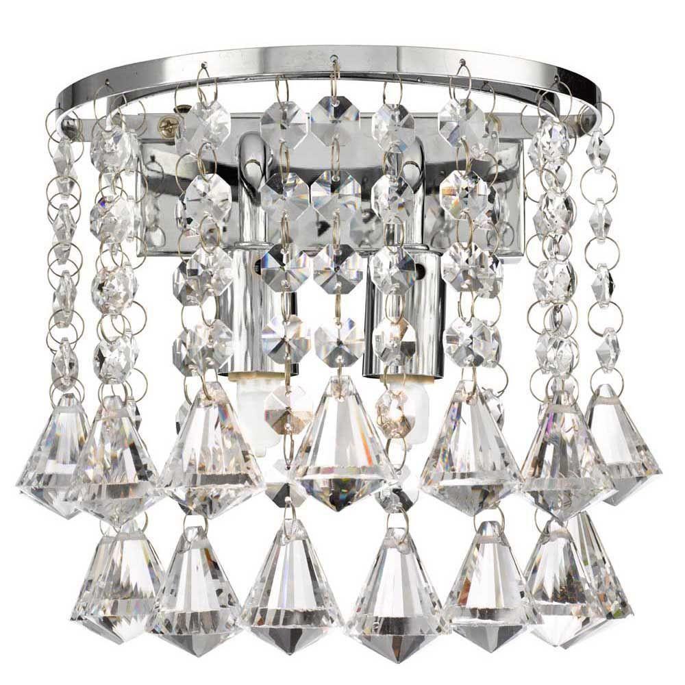 Krištáľové nástenné svietidlá