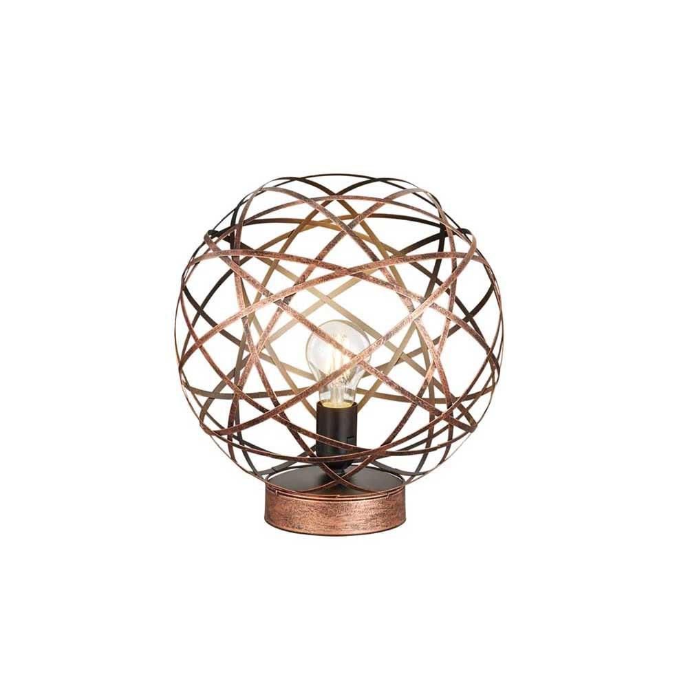 Drôtené stolné lampy