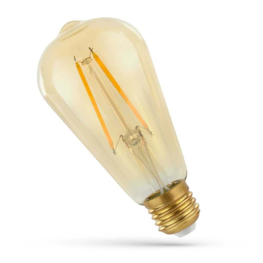 LED filament - zlatá
