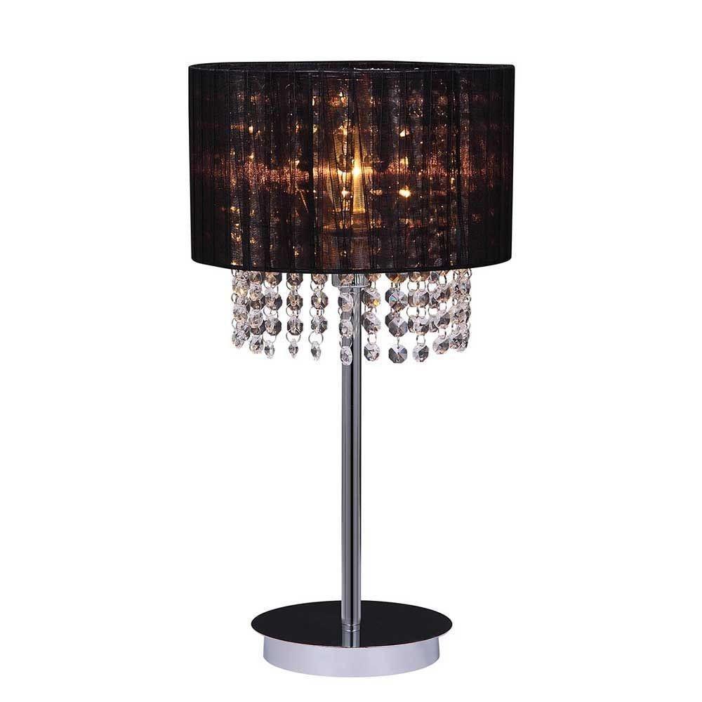 Krištáľové stolné lampy