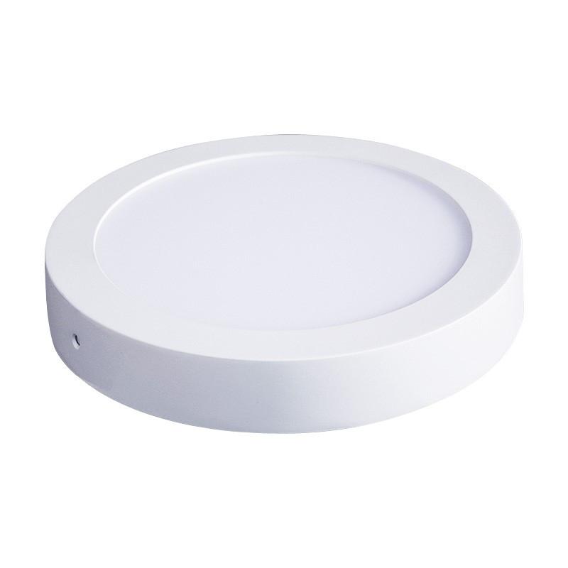 LED panely okrúhle-povrchové