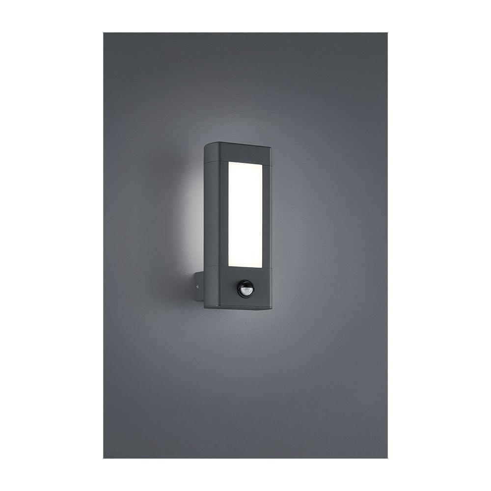 RHINE 221669242, 2x LED 4,5W, 450 LM, 3000K  IP54 so senzorom