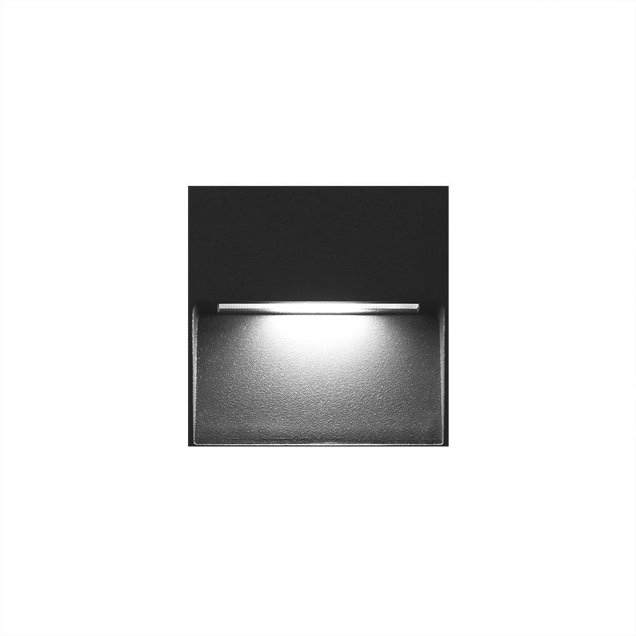 LED2 STEP ON Q S, A NÁSTENNÉ ANTRACITOVÉ IP54