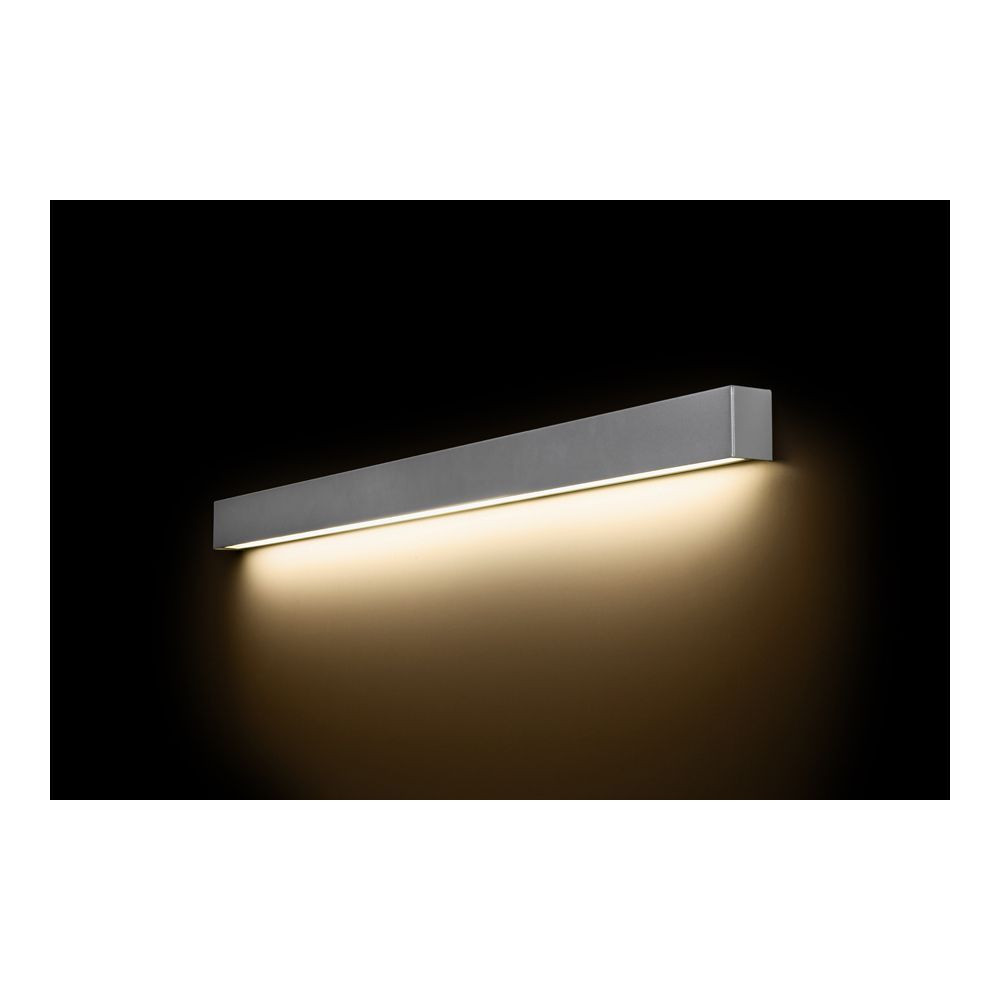 STRAIGHT WALL LED SILVER L 9615