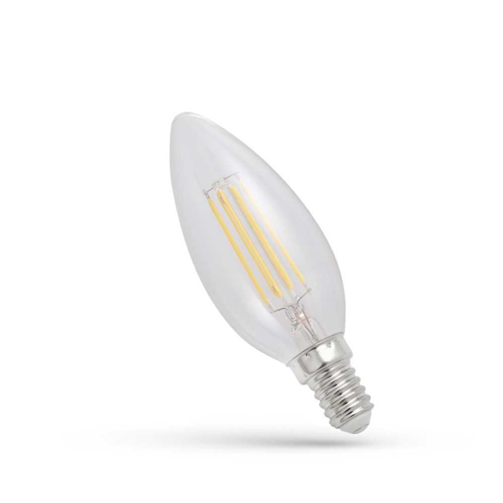 LED FILAMENT E14 SW 4W WOJ13874