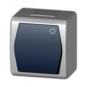 Tlačidlový ovládač so znakom svetlo (1004-01)