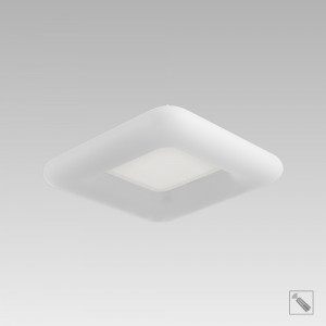 TRIVAN LED/24W,2700-6500K,MAT WHITE