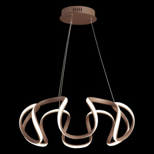 PASSO LED/38W,3000K,BROWN/WHITE