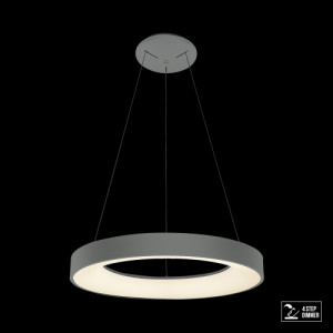 GENTIS LED/40W,4000K,MATT GREY, PENDANT