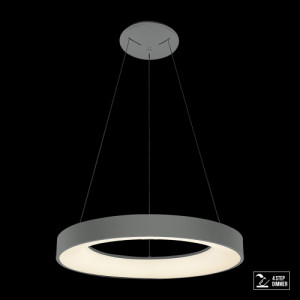 GENTIS LED/50W,4000K,MATT GREY, PENDANT