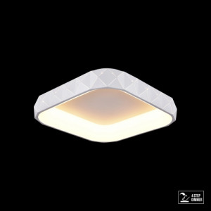 CANVAS LED/38W,4000K,MATT WHITE,CEILING