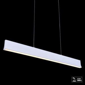 OBLO LED/30W,4000K,MATT WHITE,PENDANT
