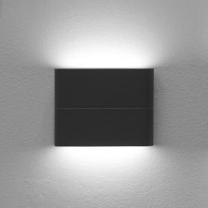 LED2 FLAT S, A NÁSTENNÉ ANTRACITOVÉ IP54