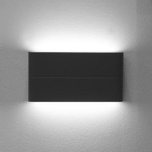 LED2 FLAT L, A NÁSTENNÉ ANTRACITOVÉ IP54