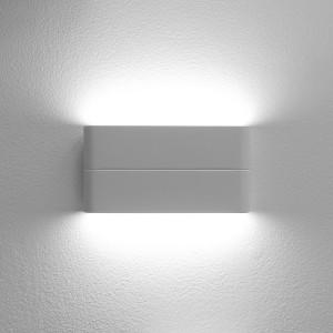 LED2 FLAT L, W NÁSTENNÉ BIELE IP54
