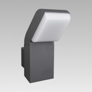 MEDO LED/ 9W, IP54,4000K,DARK GREY, WALL