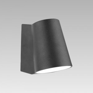 MONTERREY LED/6W,4000K,IP44, BLACK, WALL