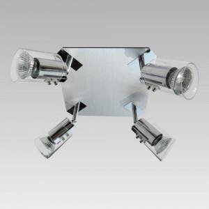 ALEX 4xGU10/50W, GLASS/CHROME