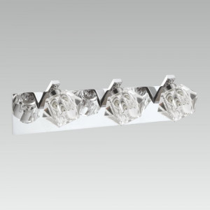 ZENITH 3xLED/5W, CHROME/CRYSTAL