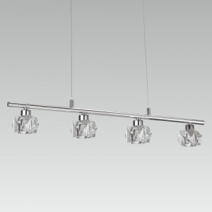 ZENITH 4xLED/5W, CHROME/CRYSTAL