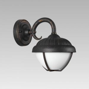 NEBRASKA LED/7W,MATT-RUSTIC,MILKY,WALL