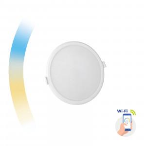 ALGINE SMART LED 12W Wi-Fi CCT DIMM ROUND ZÁPUSTNÉ SLI038016CCT