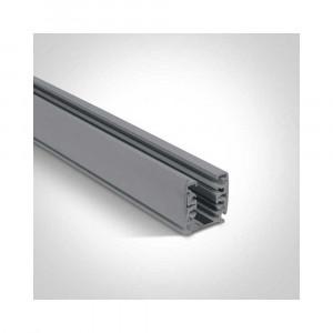 Hranatá 3-fázová lišta 40003A/G 3m