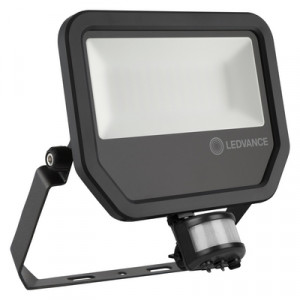 Floodlight SENZOR GEN 3 50W BLACK, 3000K, 4000K,