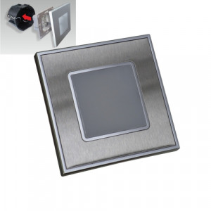 STEP LIGHT LED 1W,60lm,4000K,STEEL/SATIN