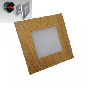 STEP LIGHT LED 1W,60lm,4000K,LIGHT WOOD