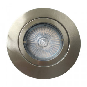DOWNLIGHT 1xGU10/MAX 50W,NICKEL SATIN