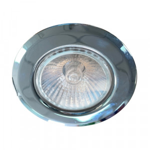 DOWNLIGHT 1xGU10/MAX 50W,CHROME