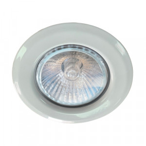 DOWNLIGHT 1xGU10/MAX 50W,MATT WHITE