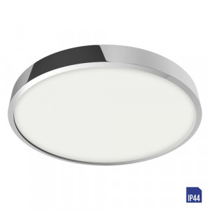 LENYS LED/24W, 4000K,IP44, CHROME/WHITE