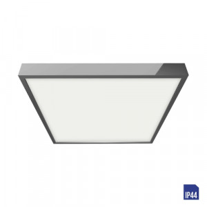 LENYS LED/18W, 4000K,IP44, CHROME/WHITE