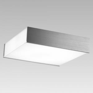 CUBEO 4xE27/60W, ALUMINIUM/WHITE