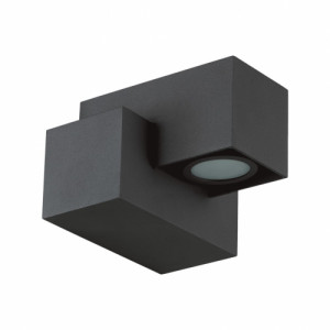ROCS LED/3W,IP44,DARK GRAY