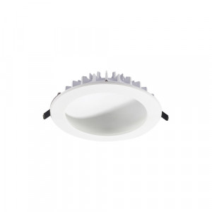 DOMES LED/8W,4000K,ALUMINIUM,WHITE
