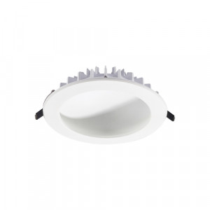 DOMES LED/12W,4000K,ALUMINIUM,WHITE