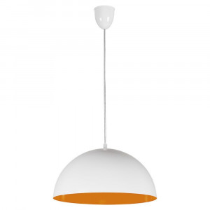 HEMISPHERE WHITE-ORANGE FLUO 6374