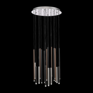 LA VELA LED/44W,3000K,MULTICOLOR,PENDANT