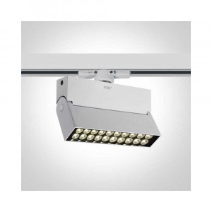 Lištové svietidlo Skamnia 65020T/W/C LED 20W, 1500 LM, 4000K