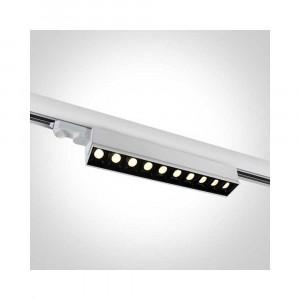 Lištové svietidlo Ampares 65024T/W/W 10xLED 5W, 400 LM, 3000K