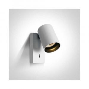 Bodové svietidlo Elatos K 65105NA/W 1xGU10 MR16
