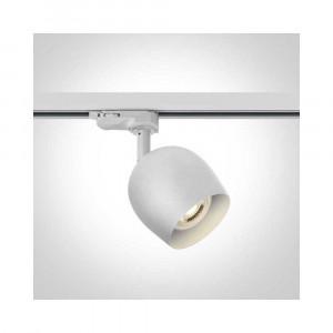 Lištové svietidlo Boves 65105WT/W 1xGU10