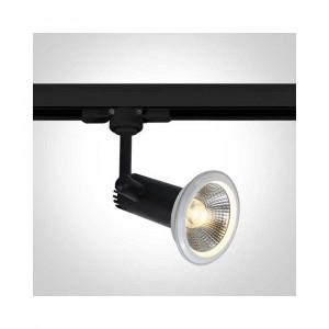 Lištové svietidlo Dafnoula 65111AT/B 1xE27 PAR30