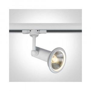 Lištové svietidlo Dafnoula 65111AT/W 1xE27 PAR30