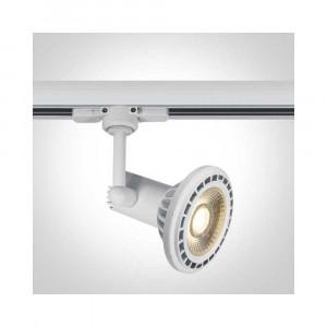 Lištové svietidlo Glinos 65118AT/W 1xGU10 AR111