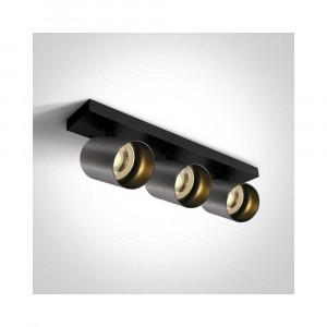 Bodové svietidlo Elatos 3 65305N/MG 3xGU10 MR16