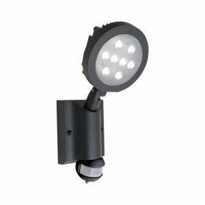 NEVADA  LED/8W, IP54, GRAY/CLEAR